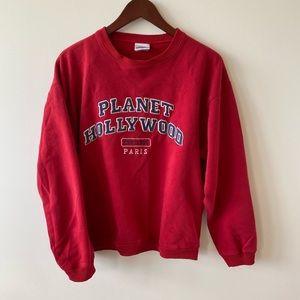 Vintage planner sweater